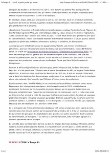 LeTemps.ch | Le teff, la petite graine qui monte