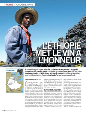 Huma Dimanche - Vin Ethiopie