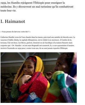 Docteur Hamlin en Éthiopie
