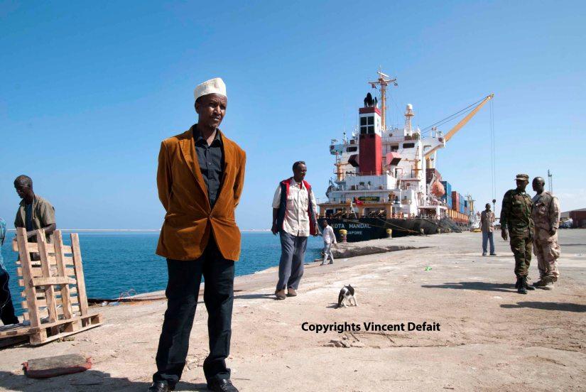 Berbera, Somaliand (Déc. 2015) - Ali Hoor Hoor, l'influent mana