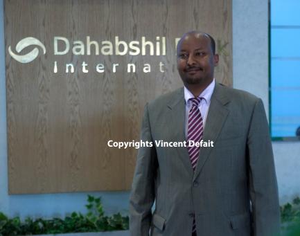 Hargeisa, Somaliland (Déc. 2015) - Abdirashid Duale, le patron