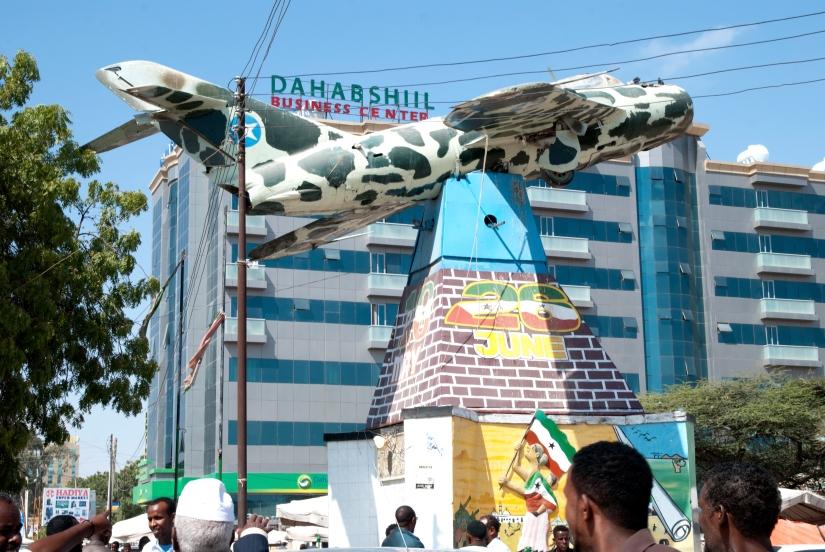 Hargeisa, Somaliland (Dec. 2015) - Le mémorial du bombardement