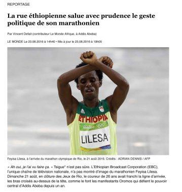La rue éthiopienne salue avec prudence le geste politique de so