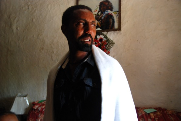 Ethiopie, Addis-Abeba - avril 2015. Seyoum Yekuneamelak, frère