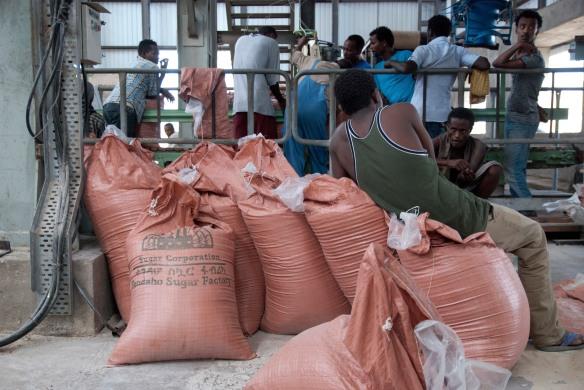 Juin 2015 - Dans la Tendaho Sugar factory, construite dans le se