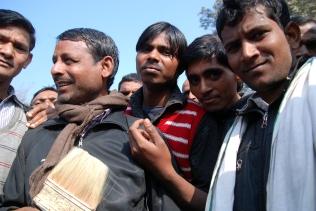 New Delhi (Inde), janvier 2017 - Dans la capitale indienne, des