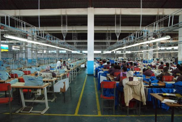L'usine de textile Big M à Addis-Abeba, Ethiopie